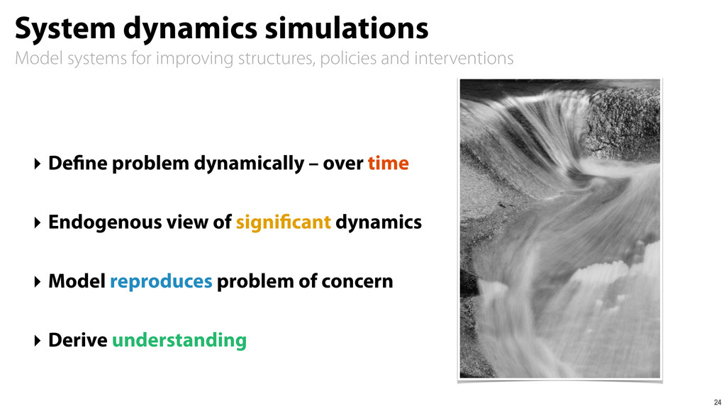 Model systems for improving structures, policie...