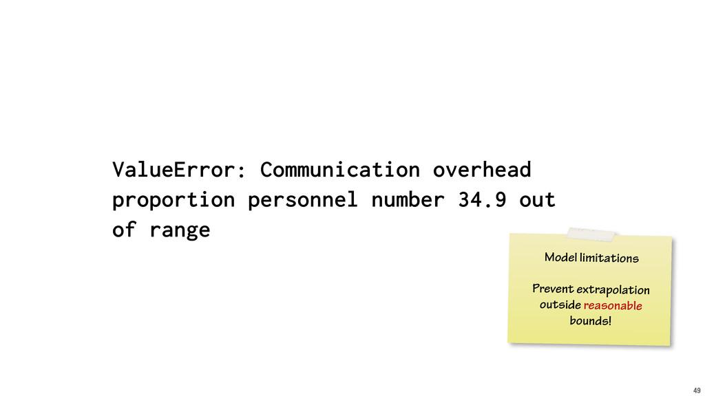 49 ValueError: Communication overhead proportio...