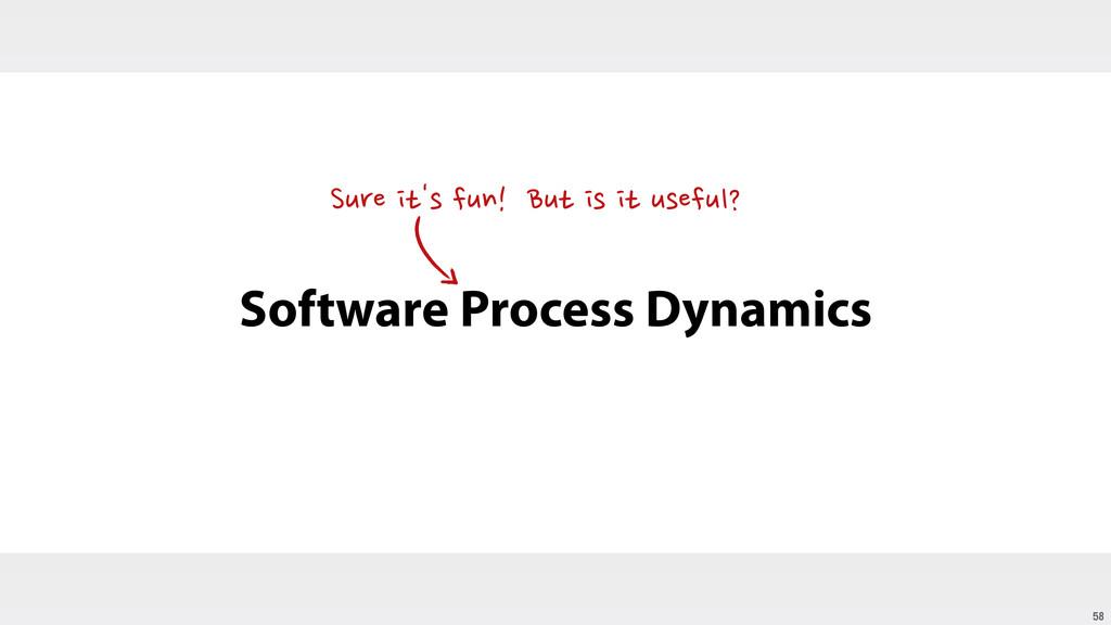 58 Software Process Dynamics Sure