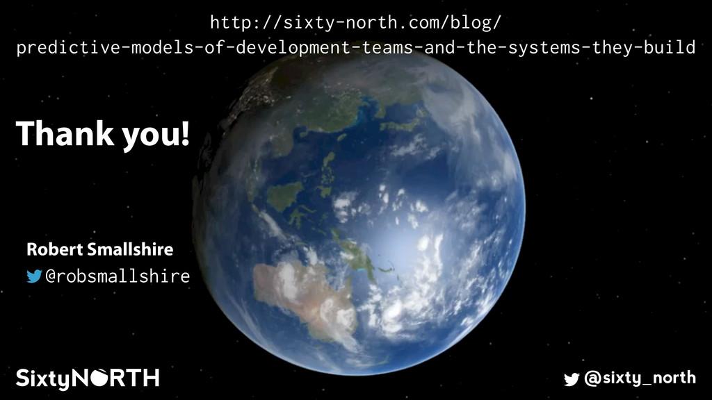 60 Thank you! @sixty_north Robert Smallshire @r...