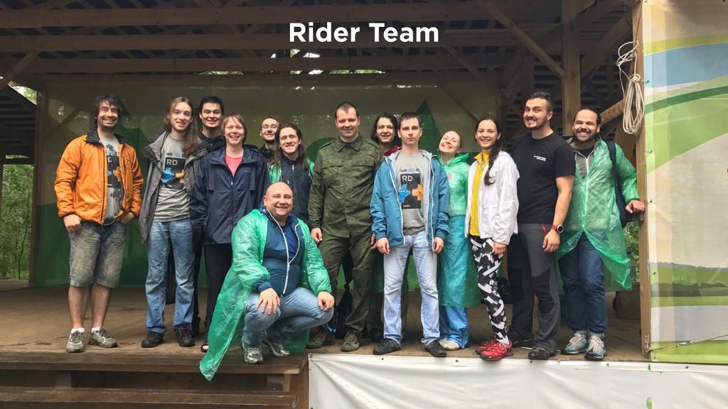 Rider Team