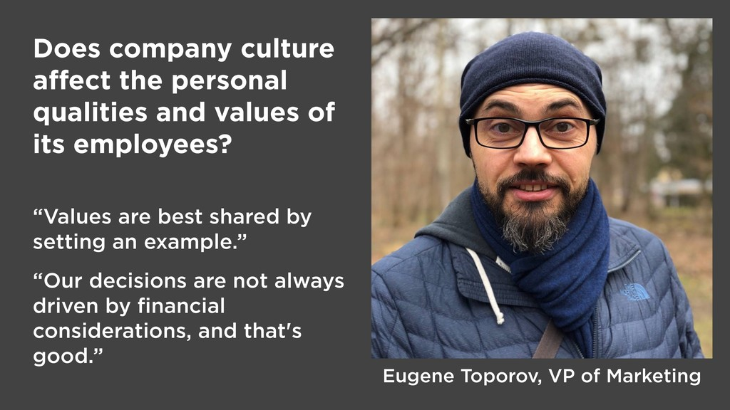Does company culture affect the personal qualiti...