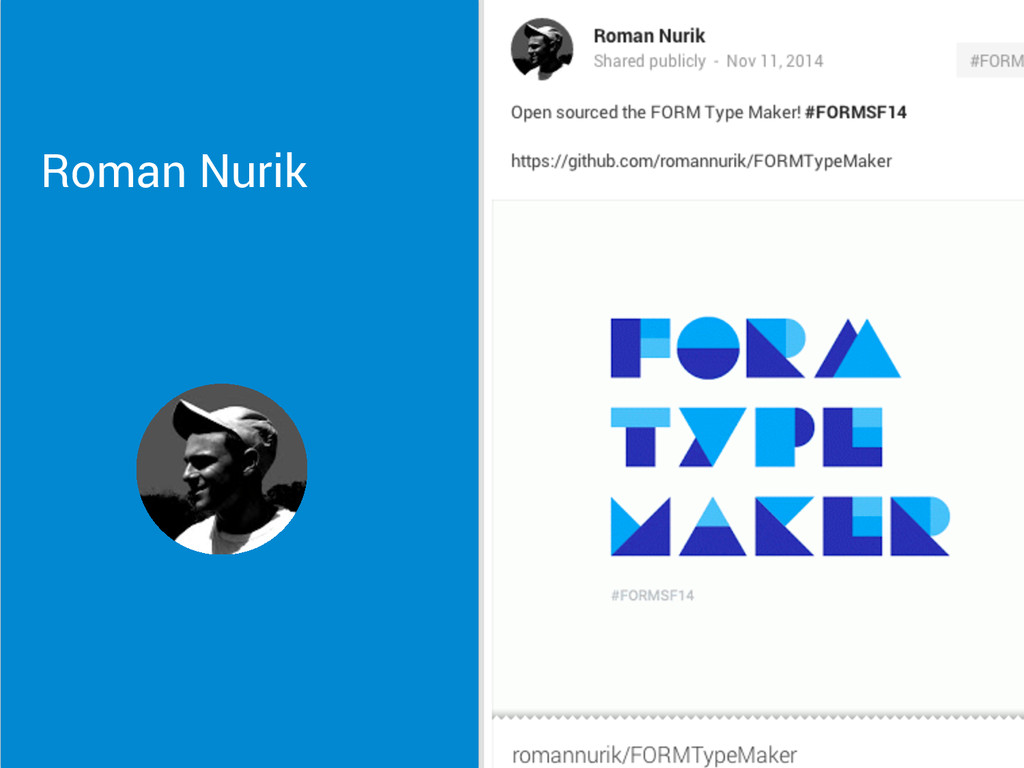 Roman Nurik