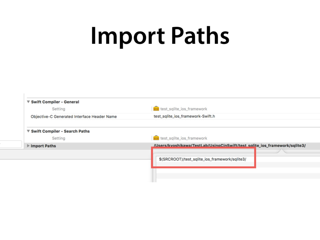 Import Paths