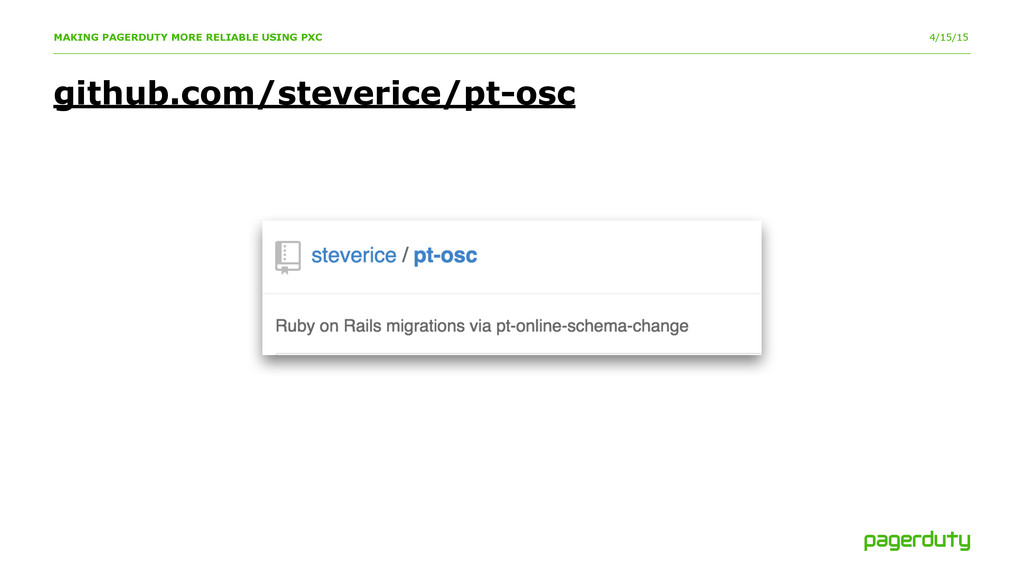 4/15/15 github.com/steverice/pt-osc MAKING PAGE...