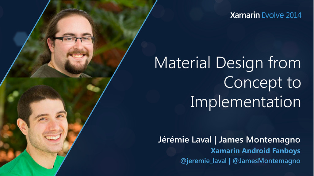 Material Design from Concept to Implementation ...
