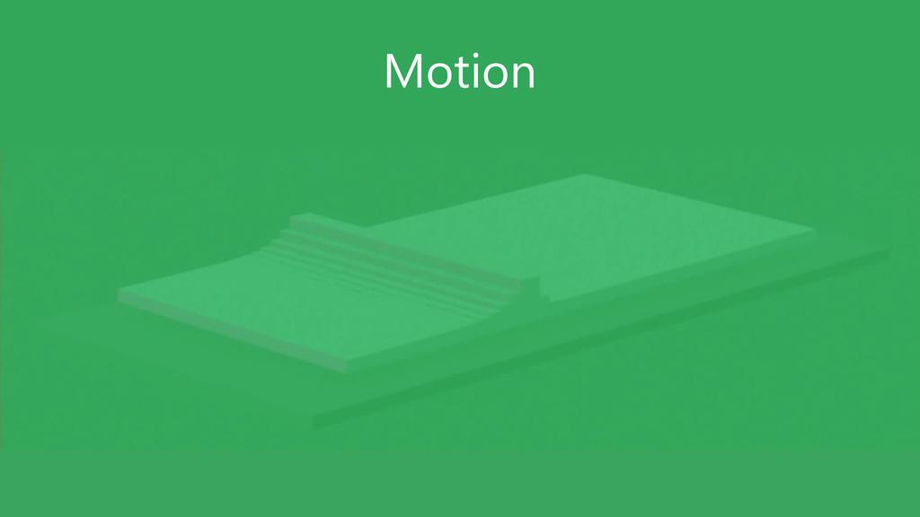 GUIDELINES – DO NOT USE SLIDE Motion