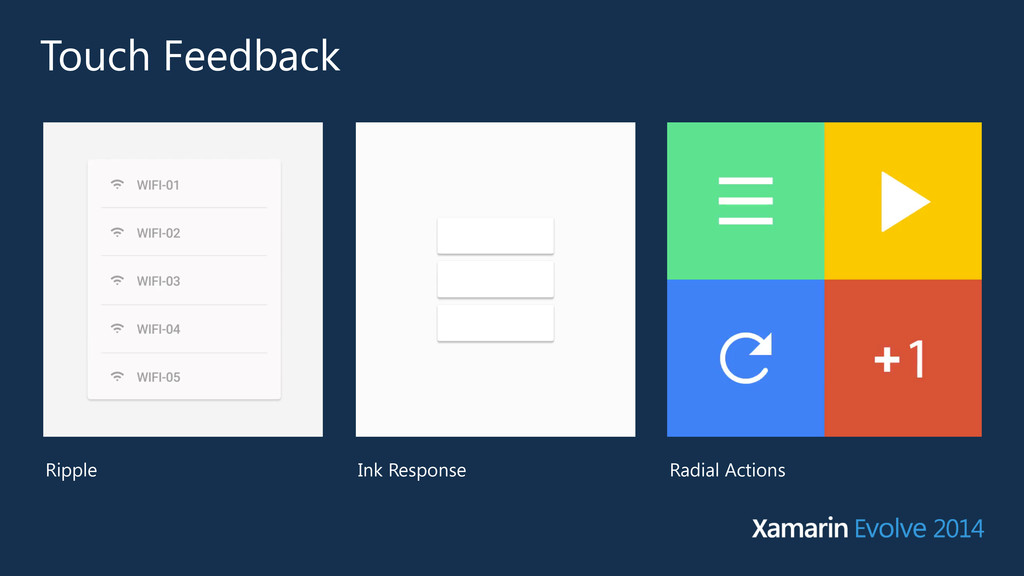 Touch Feedback Ripple Ink Response Radial Actio...