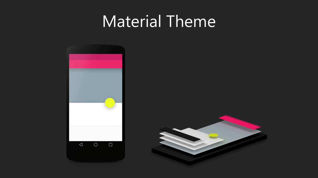 GUIDELINES – DO NOT USE SLIDE Material Theme