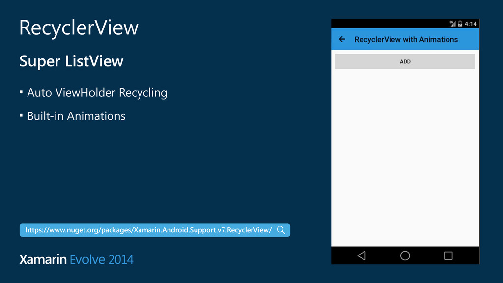 RecyclerView Super ListView ■ Auto ViewHolder R...