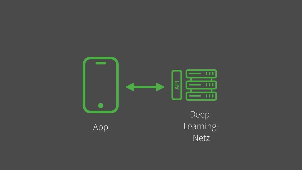 App Deep-   Learning-   Netz API