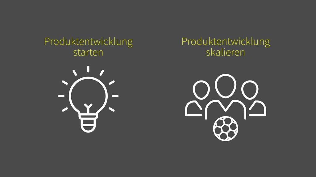 Produktentwicklung starten Produktentwicklung s...