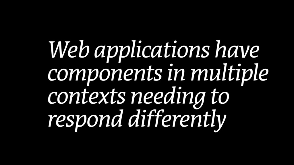 Web applications have components in multiple co...