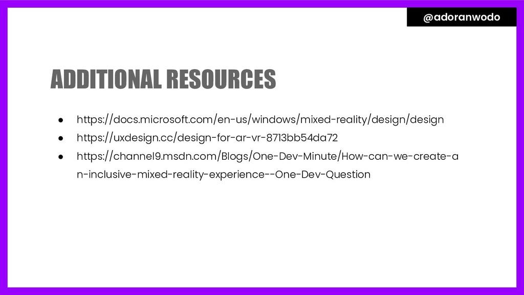 ● https://docs.microsoft.com/en-us/windows/mixe...