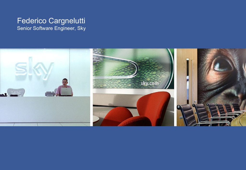Federico Cargnelutti Senior Software Engineer, ...