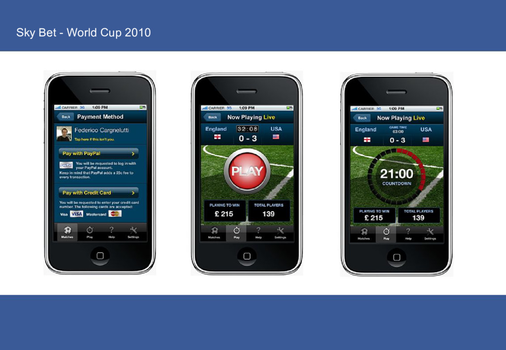 Sky Bet - World Cup 2010
