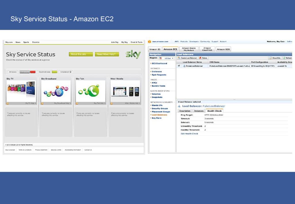 Sky Service Status - Amazon EC2