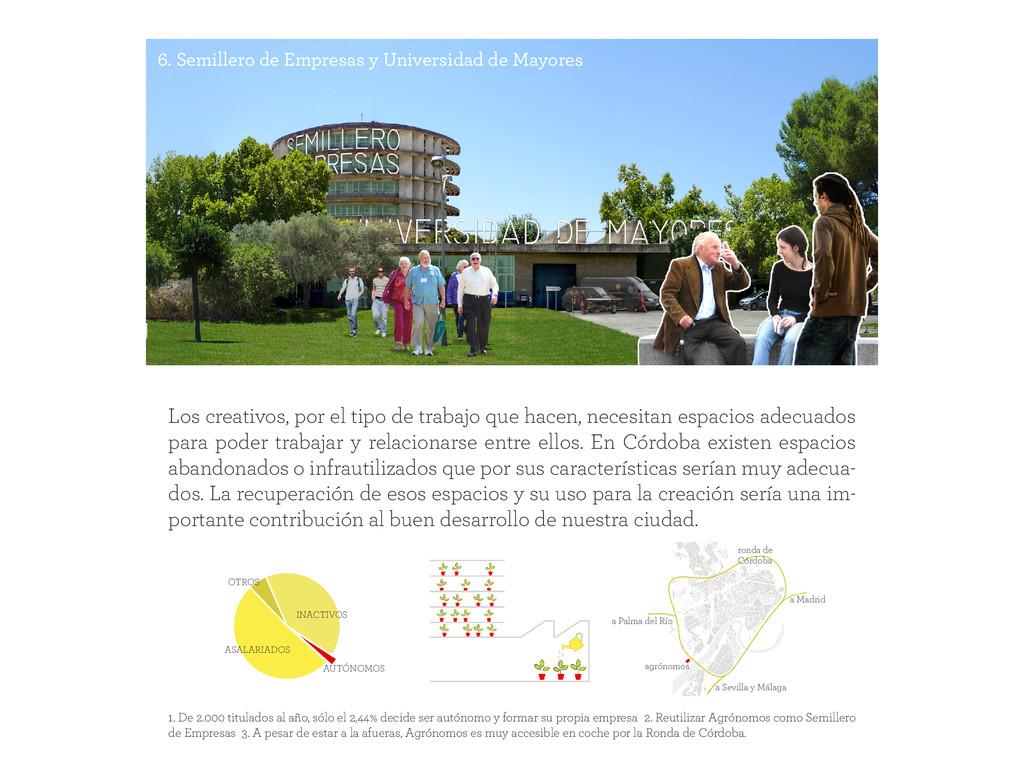 6. Semillero de Empresas y Universidad de Mayor...