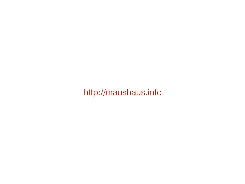 http://maushaus.info