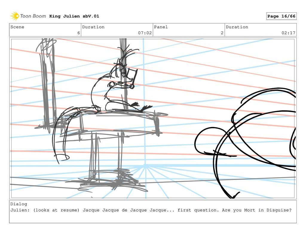 Scene 6 Duration 07:02 Panel 2 Duration 02:17 D...