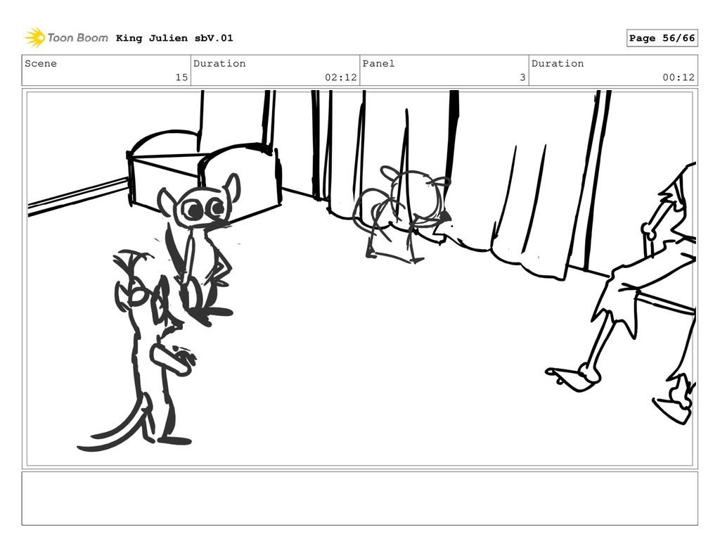 Scene 15 Duration 02:12 Panel 3 Duration 00:12 ...