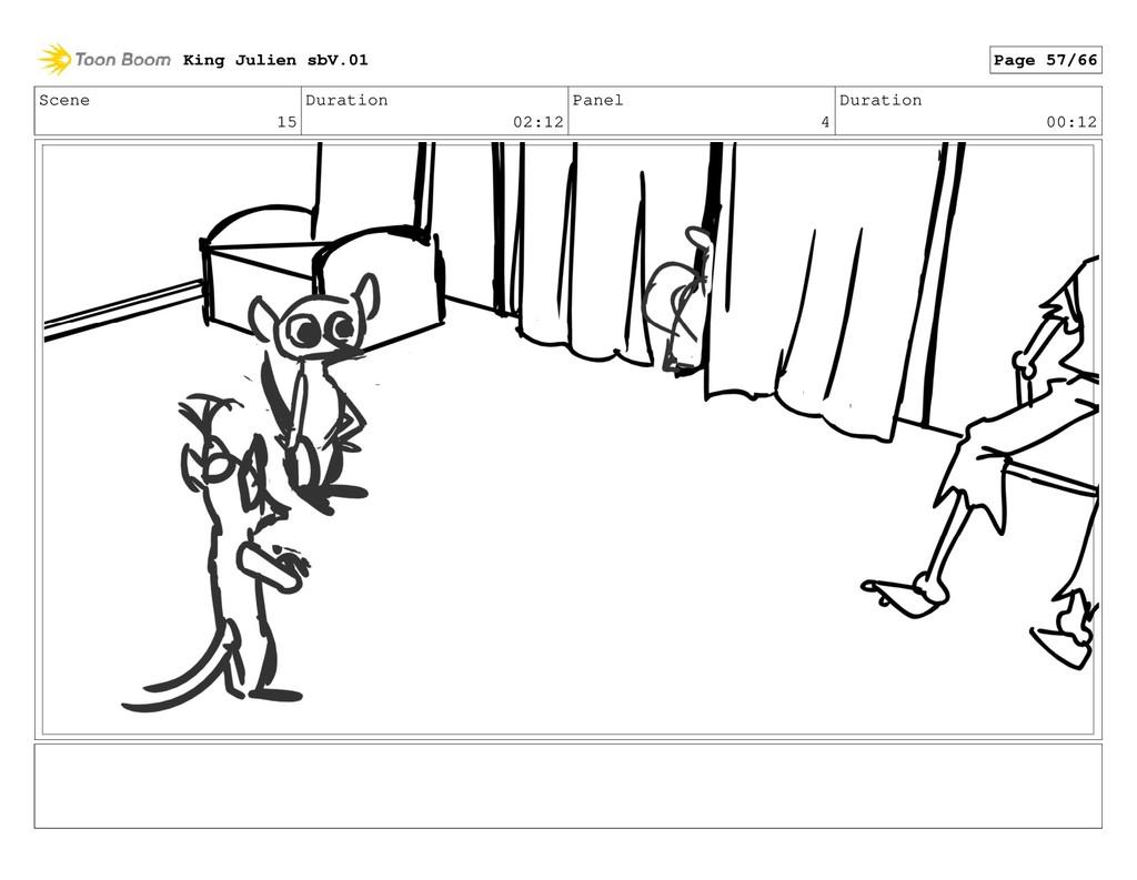 Scene 15 Duration 02:12 Panel 4 Duration 00:12 ...