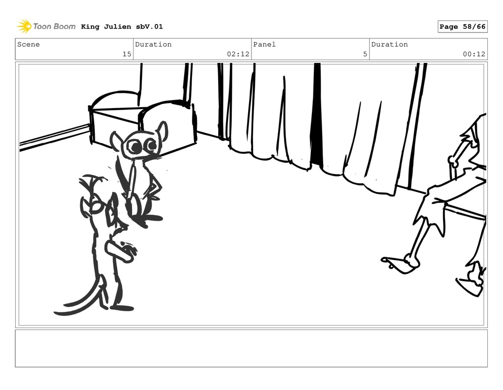 Scene 15 Duration 02:12 Panel 5 Duration 00:12 ...