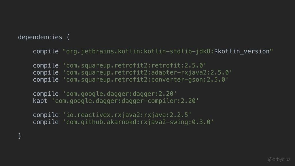 "dependencies { ""org.jetbrains.kotlin:kotlin-std..."