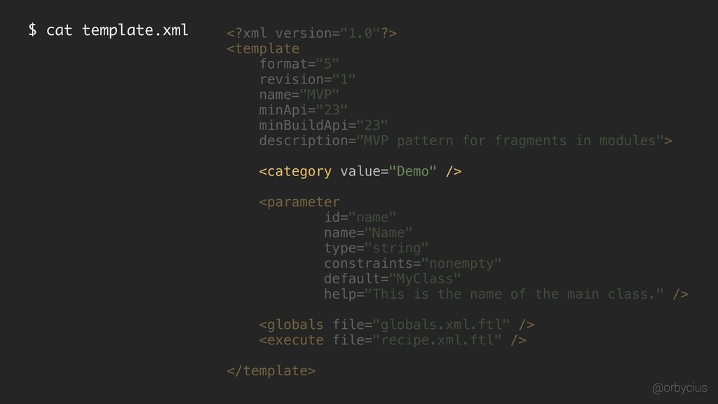 "$ cat template.xml <?xml version=""1.0""?> <globa..."