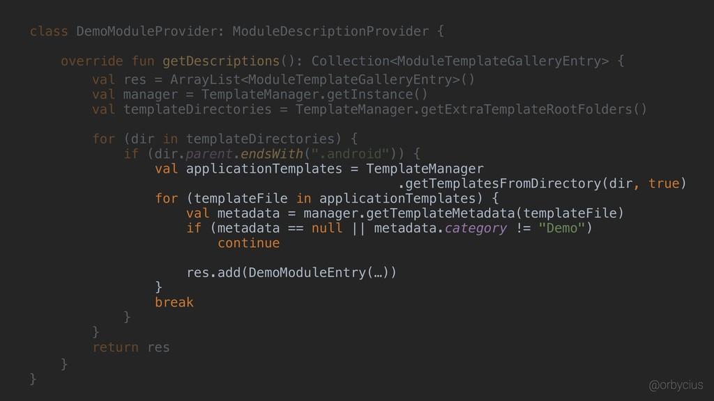 class DemoModuleProvider: ModuleDescriptionProv...