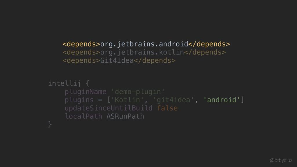 <depends>org.jetbrains.kotlin</depends> <depend...