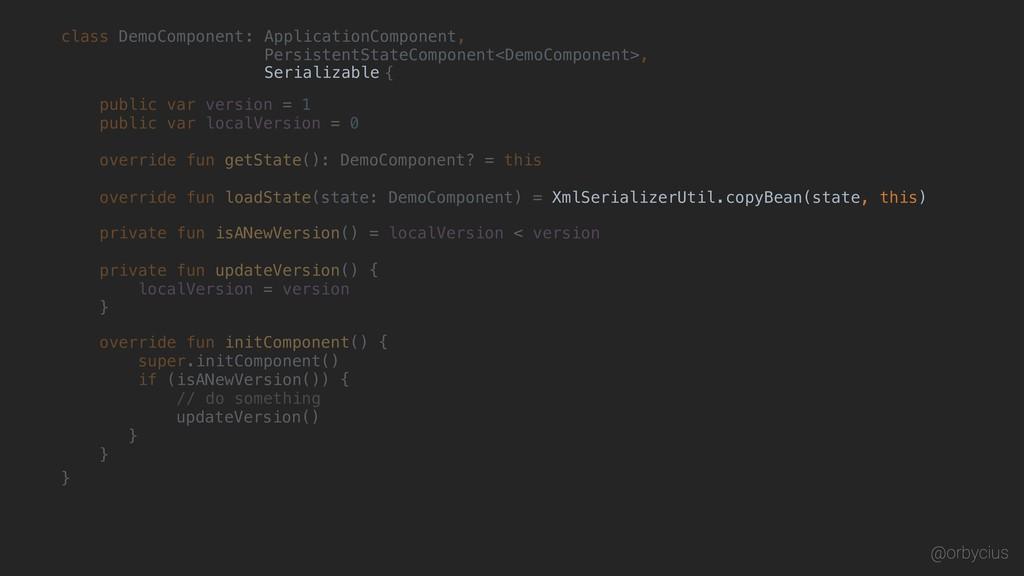 @orbycius class DemoComponent { : ApplicationCo...