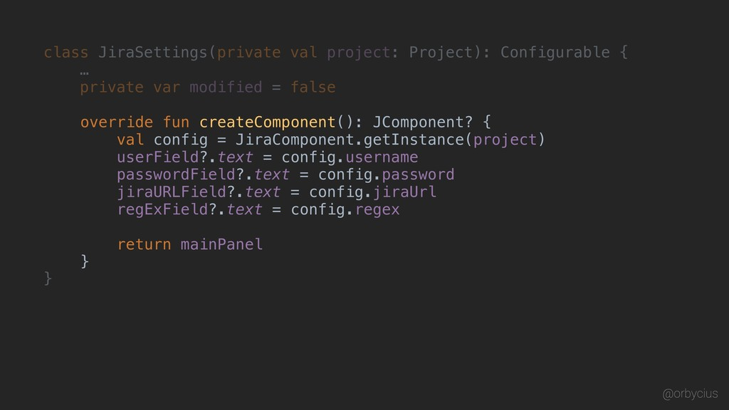 class JiraSettings(private val project: Project...