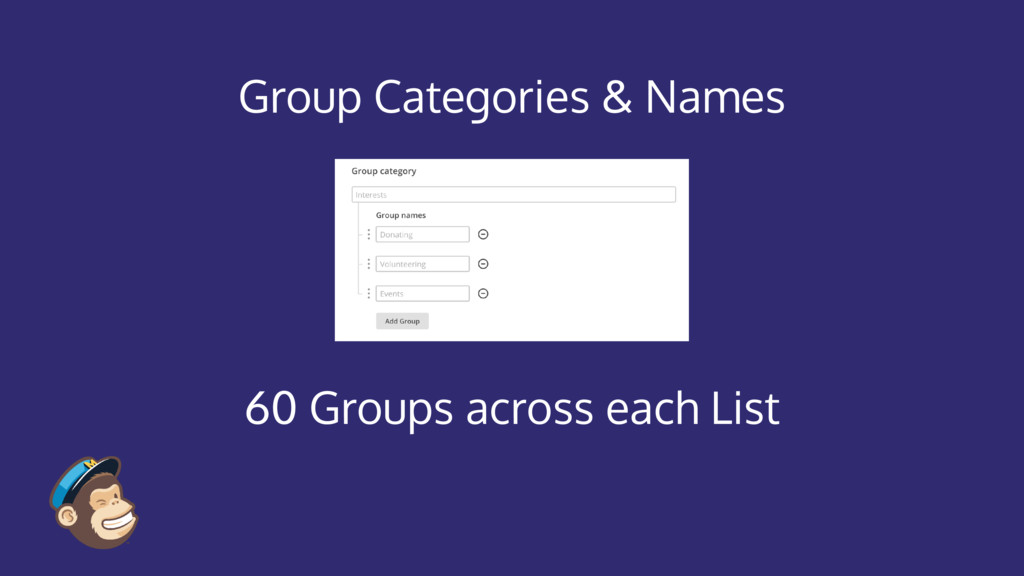 Group Categories & Names 60 Groups across each ...