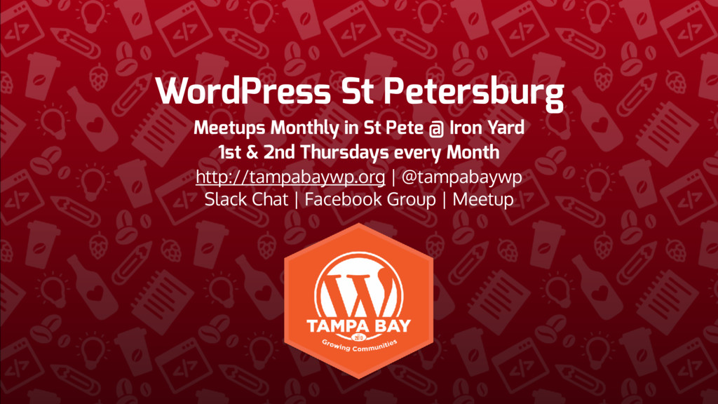 WordPress St Petersburg Meetups Monthly in St P...