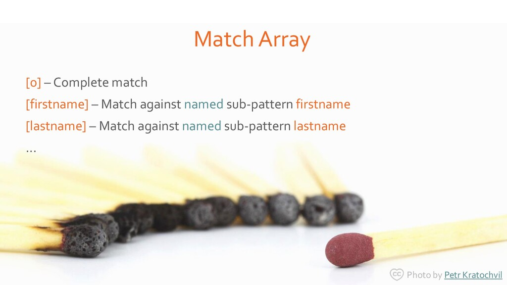 [0] – Complete match [firstname] – Match agains...