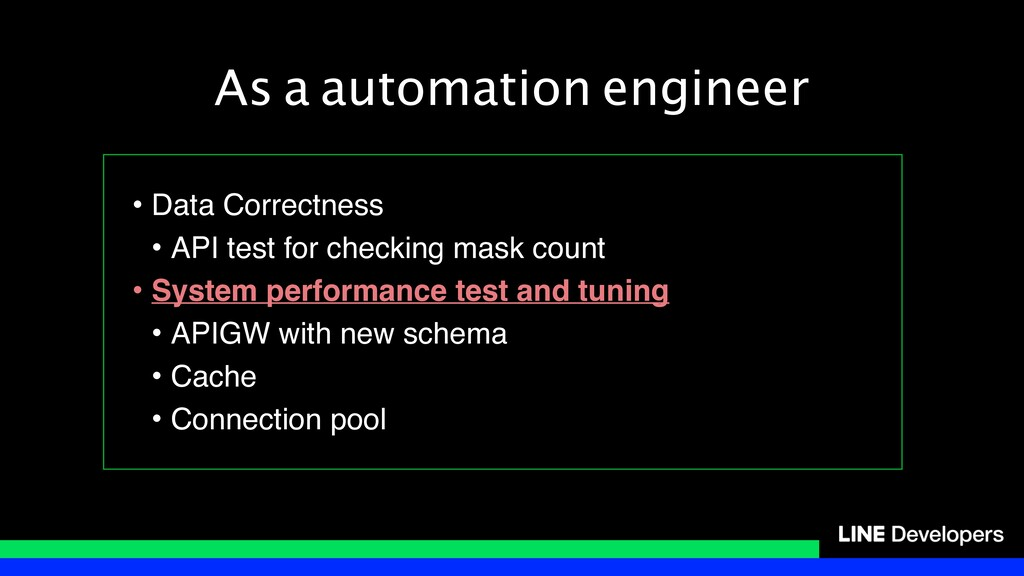 As a automation engineer • Data Correctness • A...