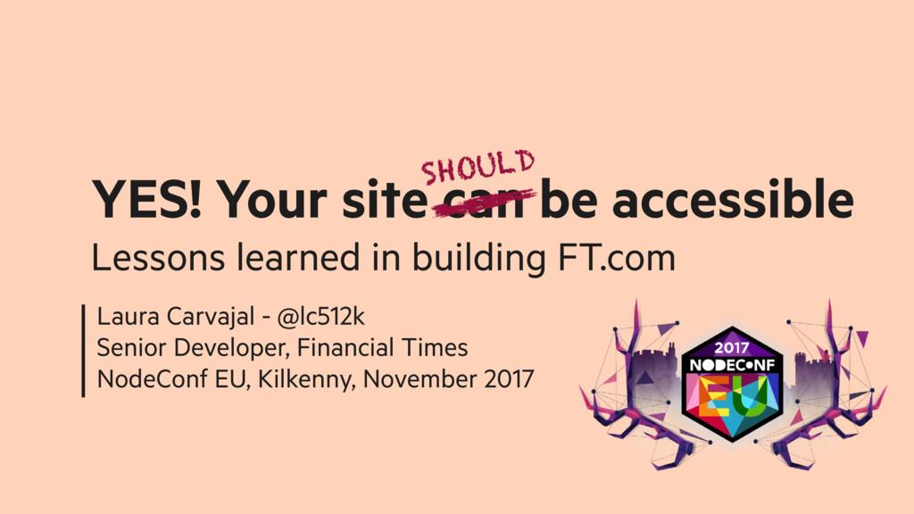 Laura Carvajal - @lc512k Senior Developer, Fina...