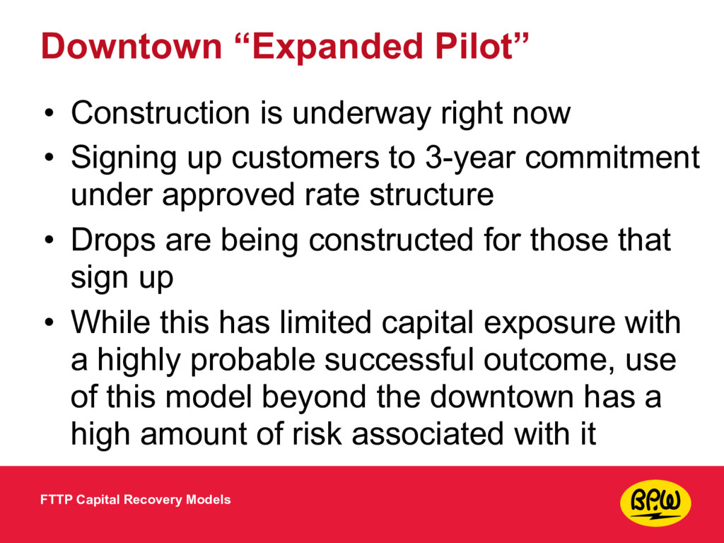 """Downtown """"Expanded Pilot"""" • Construction is und..."""