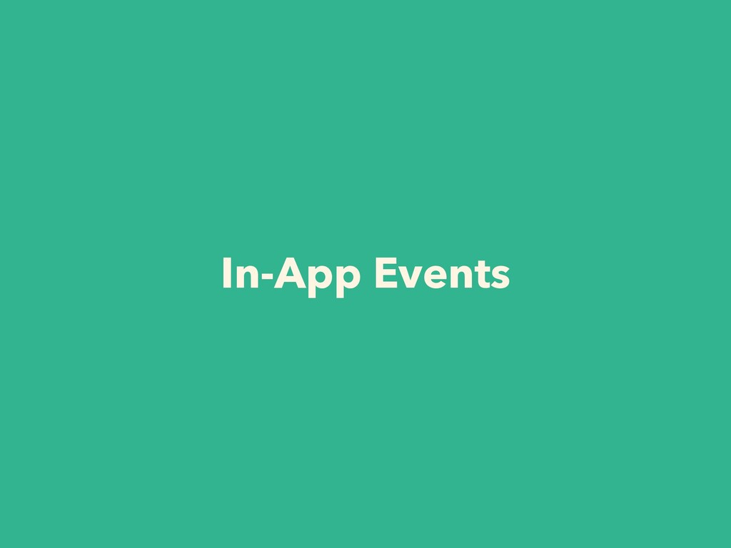 In-App Events