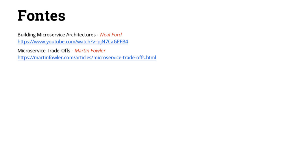 Fontes Building Microservice Architectures - Ne...