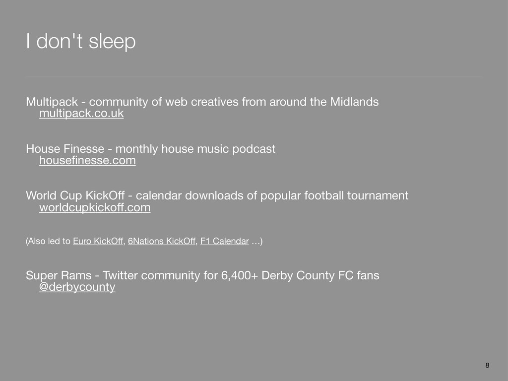 I don't sleep Multipack - community of web crea...