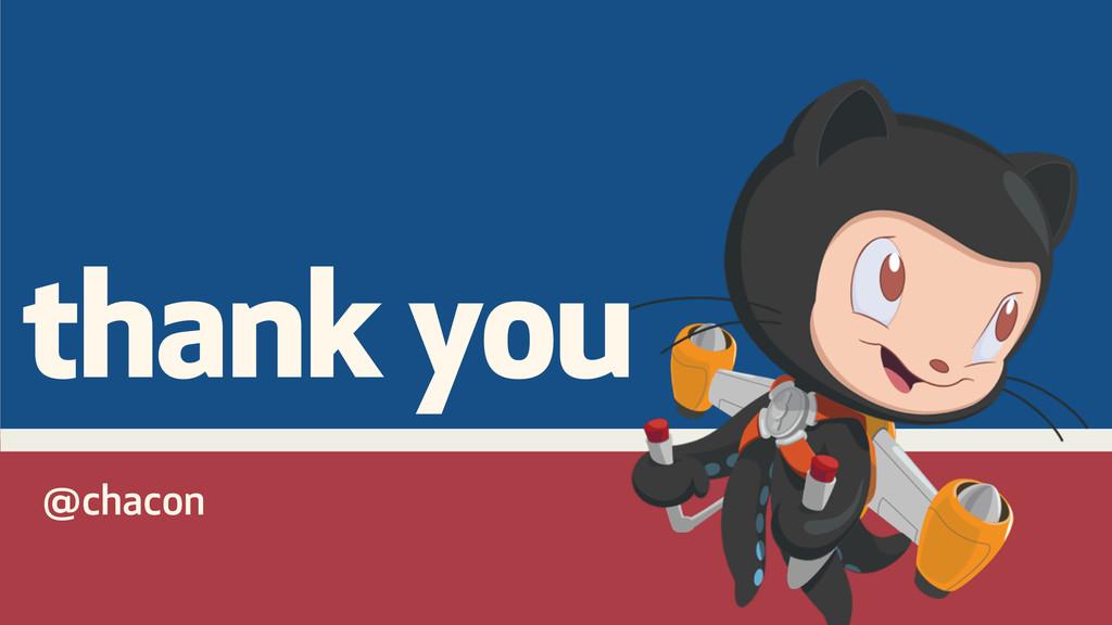 @chacon thank you