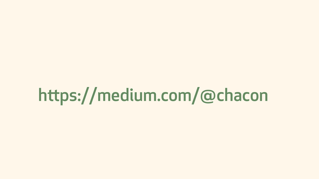 https://medium.com/@chacon