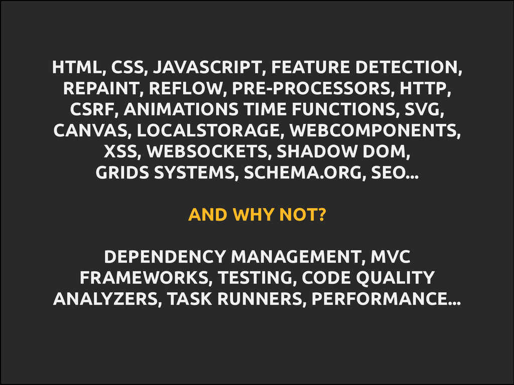 HTML, CSS, JAVASCRIPT, FEATURE DETECTION, REPAI...