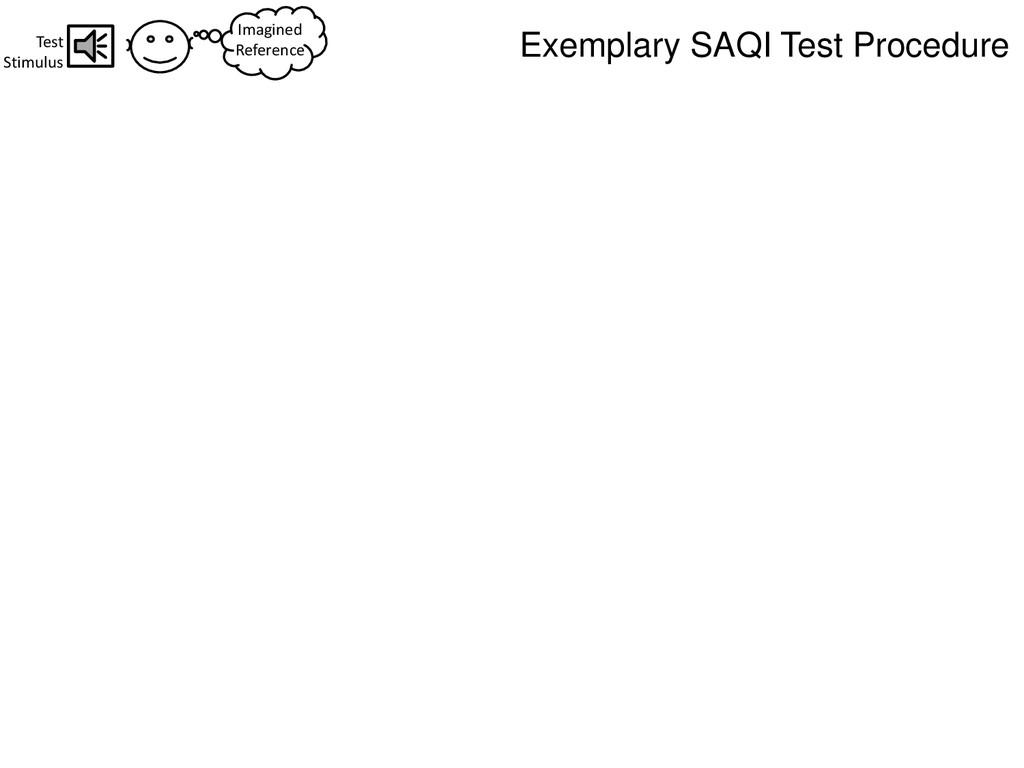 Imagined Reference Test Stimulus Exemplary SAQI...