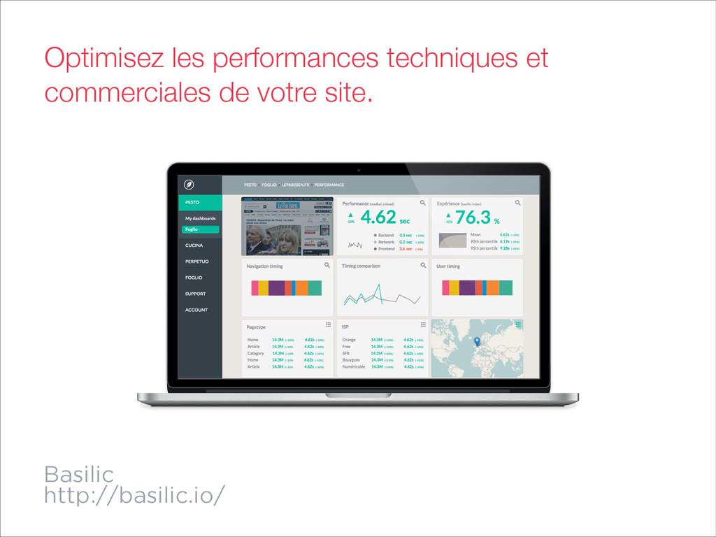 Basilic http://basilic.io/ Optimisez les perfor...
