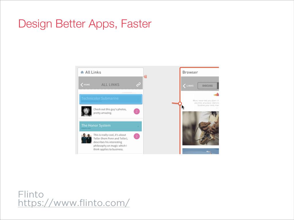 Flinto https://www.flinto.com/ Design Better App...