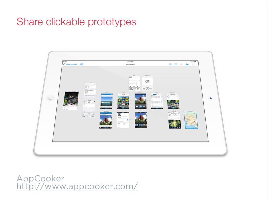 AppCooker http://www.appcooker.com/ Share click...