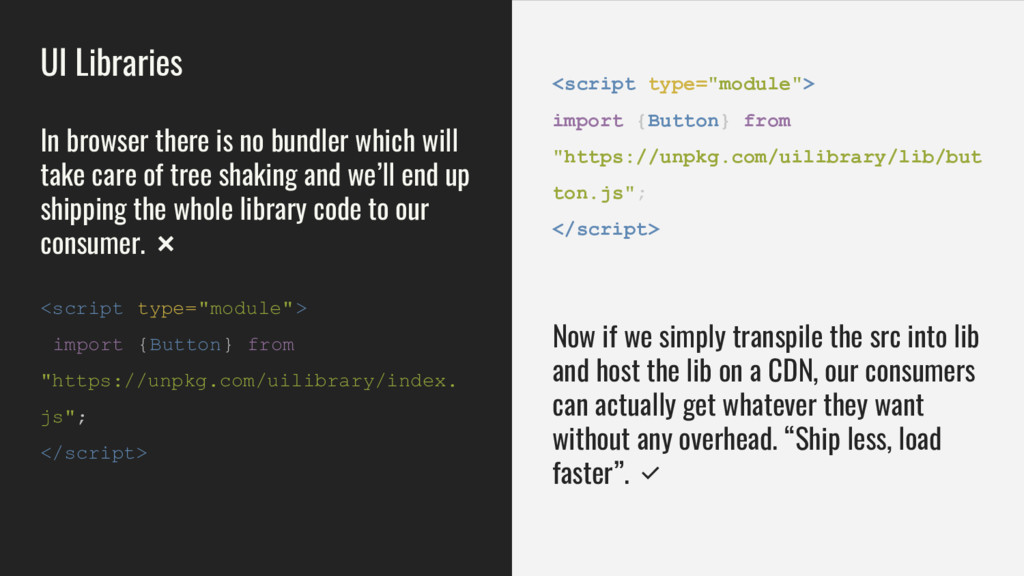 "<script type=""module""> import {Button} from ""ht..."